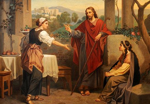 Jeschua, Miriam u Marta